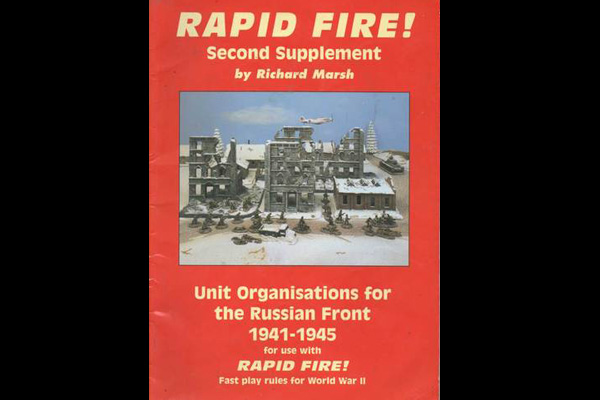 Rapid Fire: 2nd Supplement - RUSSIANS ORGANIZATION 1941-45