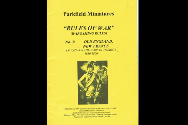 Rules of War: OLD ENGLAND/NEW FRANCE - € 5.00 IVA inc : STRATEGIA ...