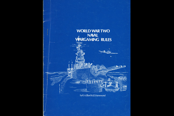WORLD WAR TWO NAVAL WARGAMING RULES - € 5 00 IVA inc