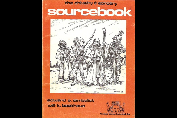 Chivalry & Sorcery: SOURCEBOOK 1st Ed