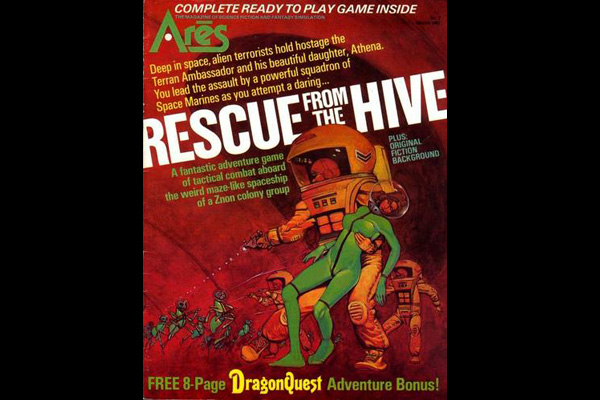 ARES: RESCUE FROM THE HIVE