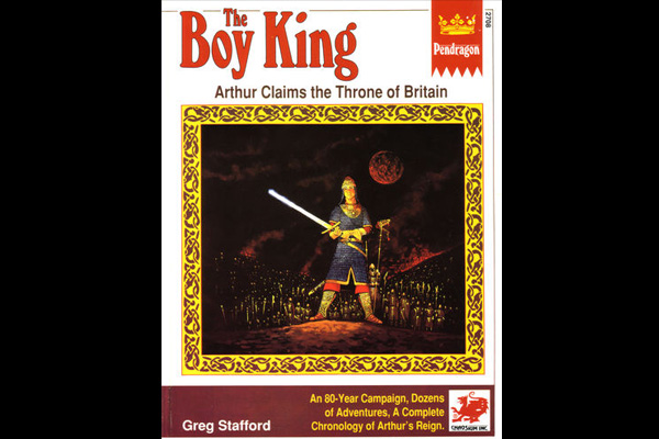 Pendragon: THE BOY KING 1st ed
