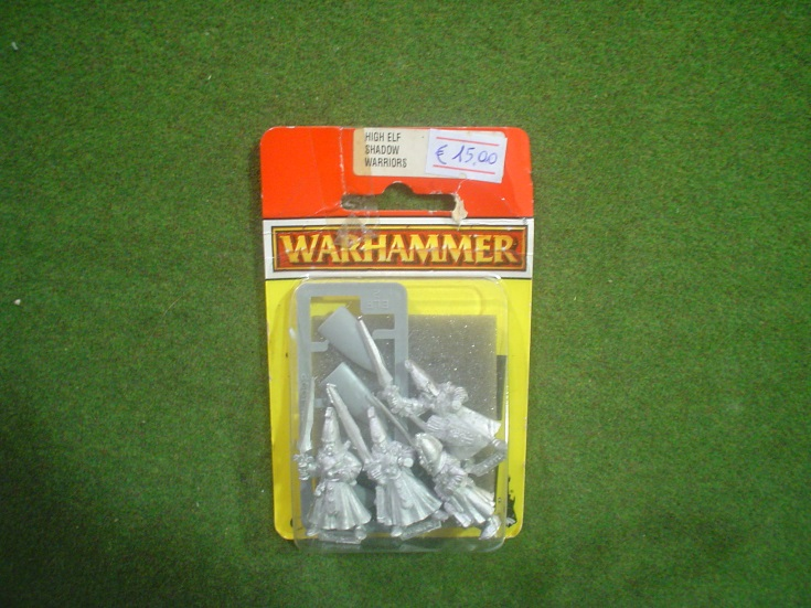 Warhammer Fantasy Battle: HIGH ELF SHADOW WARRIORS [1]