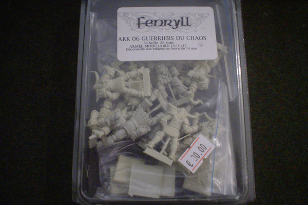 Fenryll: GUERRIERS DU CHAOS