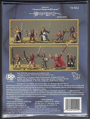 D&D Miniatures: HEROES OF DRAGONLANCE (BOX) [2]