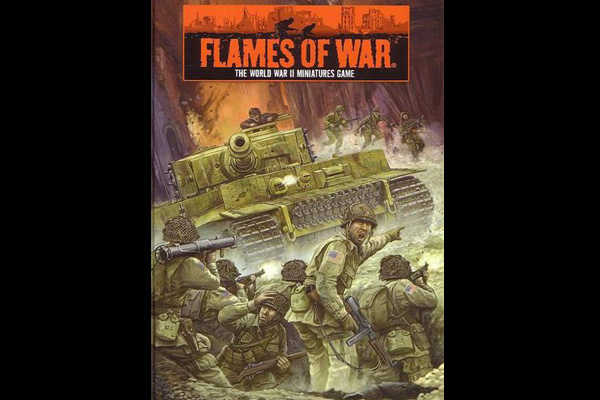 Flames of War: FLAMES OF WAR 2nd ED. Rules HARDCOVER