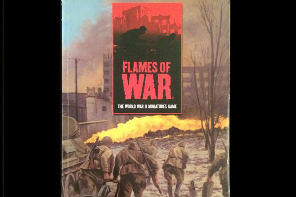 Flames of War: FLAMES OF WAR 1st ED. Rules