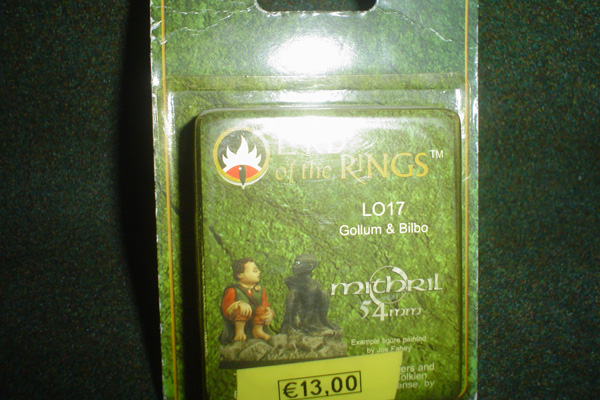 Mithril: LOTR 54mm - GOLLUM & BILBO [1]